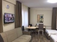 Квартира с видом на горы в Бакуриани. Купить квартиру с ремонтом и мебелью в горах Бакуриани, Грузия. Фото 1