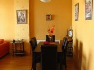 Арендовать квартиру в центре Тбилиси. Снять квартиру в новостройке Тбилиси. Вид на горы. Фото 10