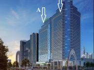 """""""Blue Sky Tower Batumi"""" - новый жилой комплекс у моря в Батуми. Комфортабельные апартаменты в ЖК гостиничного типа на Новом бульваре Батуми, Грузия. Фото 1"""