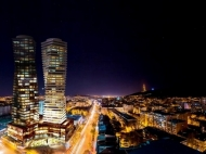 Первоклассный многофункциональный комплекс Axis Towers в центре Тбилиси. 41 этажный бизнес-центр Axis Towers в центре Тбилиси, Грузия. Фото 9