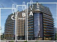 """""""LA QUINTA BY WYNDHAM"""" - многофункциональный комплекс гостиничного типа на берегу Черного моря в Батуми. Комфортабельные апартаменты в ЖК гостиничного типа на Новом бульваре Батуми, Грузия. Фото 1"""