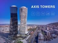 Первоклассный многофункциональный комплекс Axis Towers в центре Тбилиси. 41 этажный бизнес-центр Axis Towers в центре Тбилиси, Грузия. Фото 1