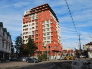 New residential building in the center Batumi. Apartments in a new building on L. Asatiani St. in the center Batumi, Georgia. Photo 2