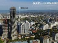 Первоклассный многофункциональный комплекс Axis Towers в центре Тбилиси. 41 этажный бизнес-центр Axis Towers в центре Тбилиси, Грузия. Фото 2