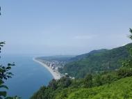 Земельный участок с видом на море и город. Сарпи, Грузия. Фото 1