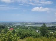 Участок с видом на море и горы в Ахалсопели. Участок в пригороде Батуми, Грузия. Фото 1