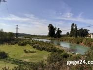 Купить частный дом в курортном районе Кобулети. Продается земельный участок в Хуцубани, Грузия. Фото 1