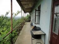 იყიდება კერძო სახლი მთების ხედით. ქობულეთი. საქართველო. ფოტო 1