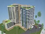Новостройка на берегу моря в Батуми. 14-этажный жилой дом на новом бульваре в Батуми, Грузия. Фото 2