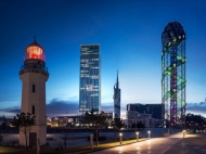 """43-სართულიანი ელიტური კომპლექსი ზღვასთან ბათუმში ზ. გამსახურდიასა და ნინოშვილის ქუჩების გადაკვეთაზე. """"Porta Batumi Tower"""". ფოტო 4"""