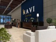 """""""Navi"""" - жилой комплекс гостиничного типа у моря в центре Гонио. Апартаменты в ЖК гостиничного типа в центре Гонио, Грузия. Фото 8"""