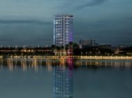 Новый элитный комплекс гостиничного типа у моря в центре Батуми. 14-этажный жилой комплекс у моря в центре Батуми на ул.Леха и Марии Качинских в центре Батуми, Грузия. Фото 2