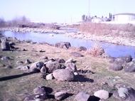 გასაყიდი მიწის ნაკვეთი სახლთან ერთად მდინარის პირას ზღვის ხედით. ბათუმი, საქართველო. ფოტო 7