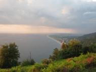 Участок с видом на море в тихом районе Квариати, Аджария, Грузия. Фото 1