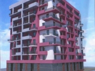 New residential building on Lermontov St. in Batumi. Apartments for sale in a new building in Batumi, Georgia. Photo 4
