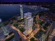 """""""Porta Batumi Tower"""". Элитные квартиры в новостройке. 43-этажный элитный комплекс у моря в центре Батуми на ул.З.Гамсахурдия, угол ул.Ниношвили. Фото 5"""