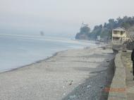 მიწის ნაკვეთი ზღვის სანაპიროზე ჩაქვში. საქართველო. ფოტო 1
