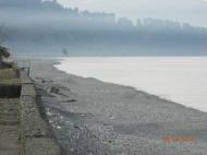 მიწის ნაკვეთი ზღვის სანაპიროზე ჩაქვში. საქართველო. ფოტო 2
