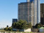 Апартаменты в новостройке в Батуми, Грузия. 22-этажный ЖК гостиничного типа на ул.Ш.Химшиашвили, угол ул.Г.Лорткипанидзе в Батуми у моря. Фото 4