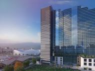 """""""Blue Sky Tower Batumi"""" - новый жилой комплекс у моря в Батуми. Комфортабельные апартаменты в ЖК гостиничного типа на Новом бульваре Батуми, Грузия. Фото 5"""