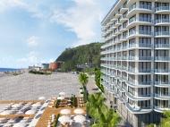 Рanorama Kvariati - новый французский апарт-отель у моря в Квариати. Апартаменты в апарт-отеле на первой линии моря в Квариати, Грузия. Фото 2