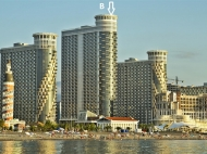 Apartment for sale at the seaside Batumi. Flat for sale on the New Boulevard in Batumi, Georgia. SEA TOWERS Photo 1