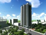 Квартиры в новостройке Батуми по ценам от строителей. 24-этажный дом в Батуми на ул.Гудиашвили, угол ул.Т.Абусеридзе. Фото 1