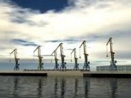 Морской терминал в Батуми, Грузия. Фото 2