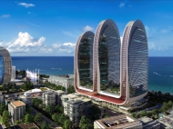 """""""Alliance Centropolis"""" - multifunctional residential complex on the Black Sea coast in Batumi, Georgia. Apartments with sea views in a new residential complex in Batumi. Photo 2"""