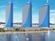 """Элитный комплекс гостиничного типа """"ORBI CITY"""" на берегу моря в Батуми. 45-этажный элитный комплекс у моря на ул.Ш.Химшиашвили в центре Батуми, Грузия. Фото 1"""