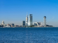 """""""Porta Batumi Tower"""". Элитные квартиры в новостройке. 43-этажный элитный комплекс у моря в центре Батуми на ул.З.Гамсахурдия, угол ул.Ниношвили. Фото 1"""
