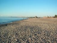 Земельный участок на пляже Черного моря в Кобулети. Участок на пляже Черного моря в Кобулети, Грузия. Фото 1