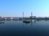 Морской терминал в Батуми, Грузия. Фото 3
