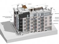 Земельный участок с проектом гостиницы в старом Тбилиси, Грузия. Фото 1