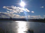 Участок с озером в пригороде Тбилиси. Купить участок с озером в пригороде Тбилиси, Грузия. Фото 1