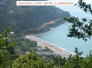 Участок у моря в Гонио, Батуми, Аджария. Купить участок с видом на море в Гонио,Грузия. Фото 2
